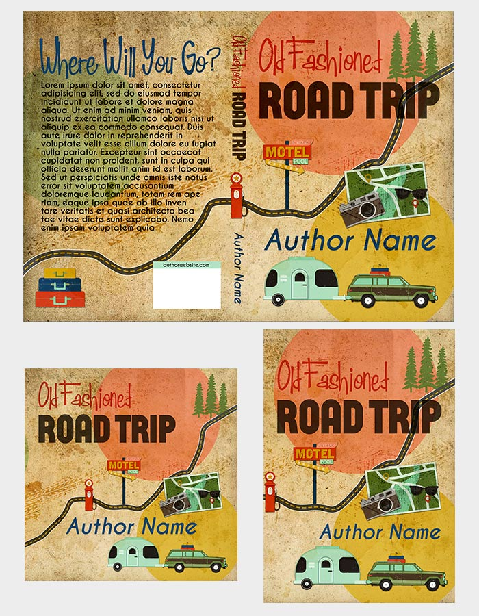 road trip book cover